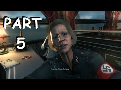 Wolfenstein The New Order Walkthrough Part 5 PS4   PC 1080p HD Gameplay let's play - No Commentary