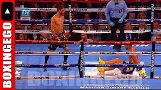 WOW!!! VASYL LOMACHENKO GETS DROPPED COMES BACK DROPS JORGE LINARES TO WIN TKO EPIC FULL FIGHT CHAT