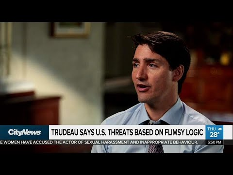 Trudeau responds to Trump's 'difficult' comments