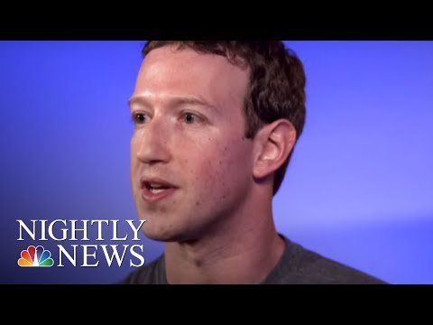 Mark Zuckerberg Breaks His Silence On Facebook Data Privacy Issues | NBC Nightly News