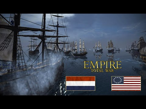 THE LAST STAND OF THE ADMIRAL'S FLAGSHIP! 1v1 Empire: Total War Battle (Naval)
