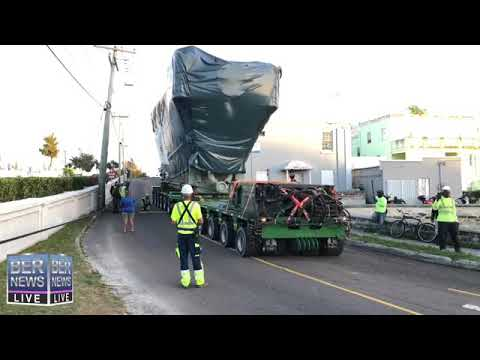 New BELCO Engine Being Moved, May 16 2019