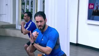 ناصر الشيخ - تمارين تحمل ورفع لياقة عضلات الارجل - رياضة