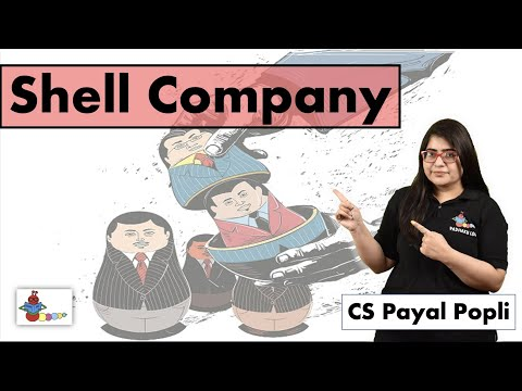 What is Shell Company? | How to create a Shell Company? | शेल कम्पनी
