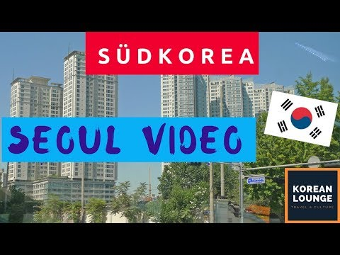 Seoul walking Nakseongdae Sadang station / Südkorea Seoul Video Vlog