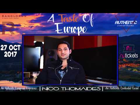 Nico Thomaides​ performing his Greek set Live at A TASTE OF EUROPE 😎 Randlords 27th October 😁