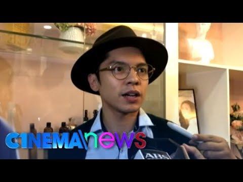 CINEMA NEWS: Carlo Aquino talks about working with ex-girlfriend Angelica Panganiban