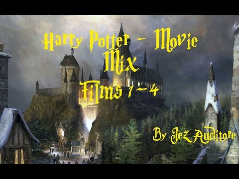 Best Harry Potter Music Mix Compilation over 1 hour Films 1-4! HD