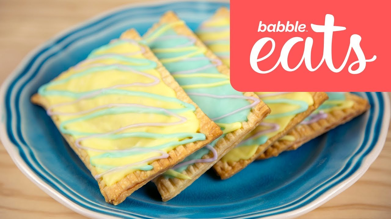 How To Make Your Own Birthday Cake Pop Tarts