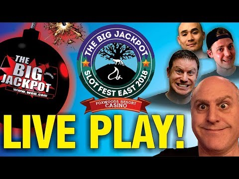 LIVE HIGH LIMIT SLOT PLAY FROM FOXWOODS!