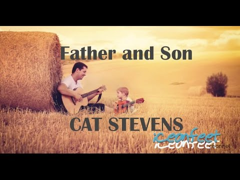 Father and Son - Karaoke - Guitar Backing Track with Lyrics - YouTube