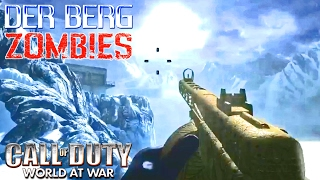 ZOMBIES MAP OF THE YEAR? Call of Duty Zombies Mod DER BERG Co-Op Gameplay