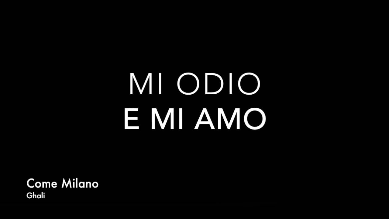 Ghali Come Milano Testo Lyrics Chords Chordify