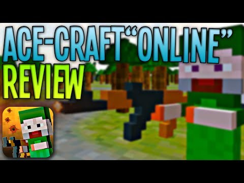 Ace-Craft Online – First Person Shooter – Minecraft Pocket Edition Clone
