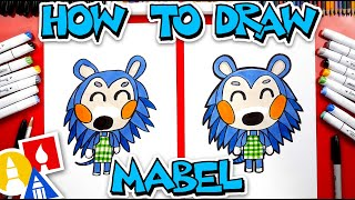 How To Draw Mabel From Animal Crossing
