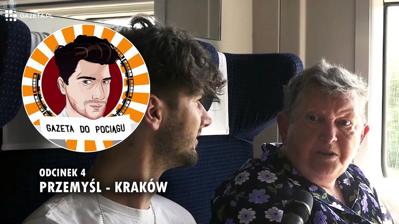 PANI STASIA ROZBAWIŁA CAŁY PRZEDZIAŁ – Gazeta do pociągu odc. 4