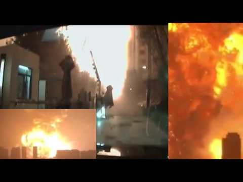 Tianjin Port Explosion, China 08 12 2015 overview