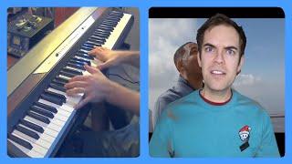 Will Smith grunt (jacksfilms) Piano Dub