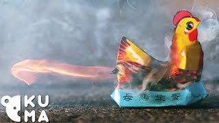 Simple Fireworks Look Surprisingly Interesting in Slow Motion!