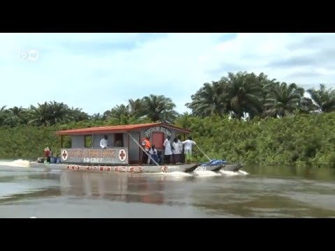 Kongo: Medizinboot wirbt für Umweltschutz | Global Ideas