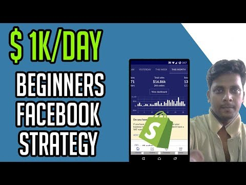 0-$1K/Days - Shopify Dropshipping  - Shopify Tutorial For Beginners thumbnail
