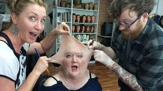 Silicone Character Prosthetic Makeup Effects Transformation