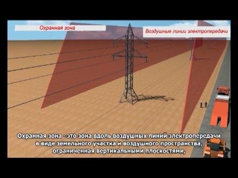 Охранная зона линий электропередачи - это опасно!
