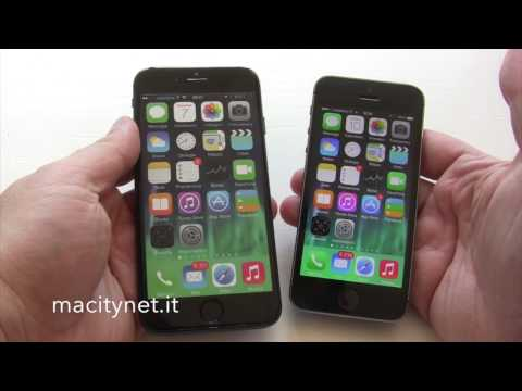 iPhone 6 vs iPhone 5S [macitynet.it]