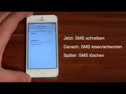 iPhone und iPad Tipp des Tages - SMS senden, lesen, beantworten, löschen (Anleitung)