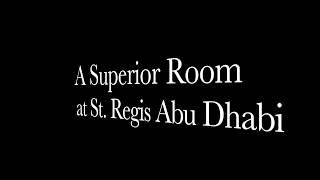 St. Regis Room Abu Dhabi