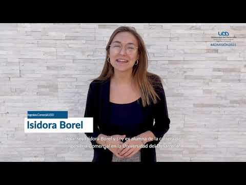 Isidora Borel   Vinculación con la Empresa #ComercialUDD