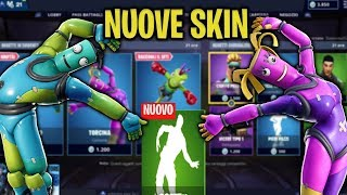 New Inflatable Skins Pieghino, Torcina, New Emote Allegro Fortnite Shop 02/03