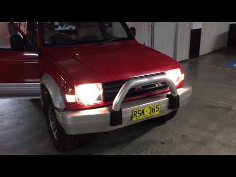 1991 Mitsubishi Pajero NH SWB Red on silver for sale Sydney 1
