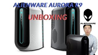 Unboxing the Alienware Aurora R9 gaming PC.