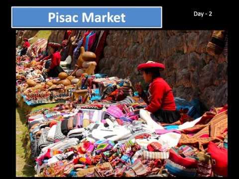 Peru & Machu Picchu Tour May 2017