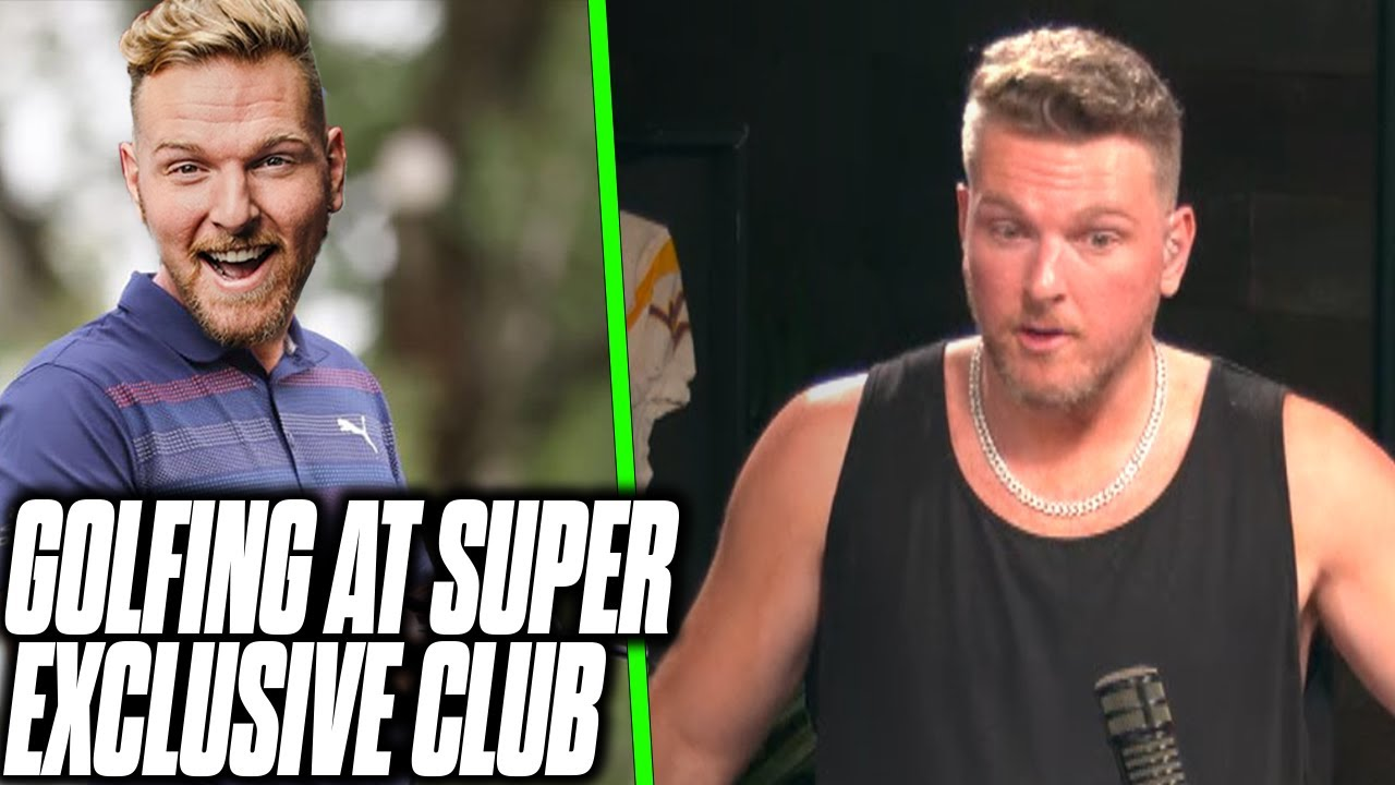 Pat McAfee Went To The Most Exclusive Country Club In America