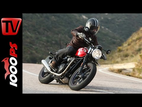 Triumph Street Twin Test 2016 | Onboard, Sound, Fazit  (English, Español, Portuguese  Subtitles)