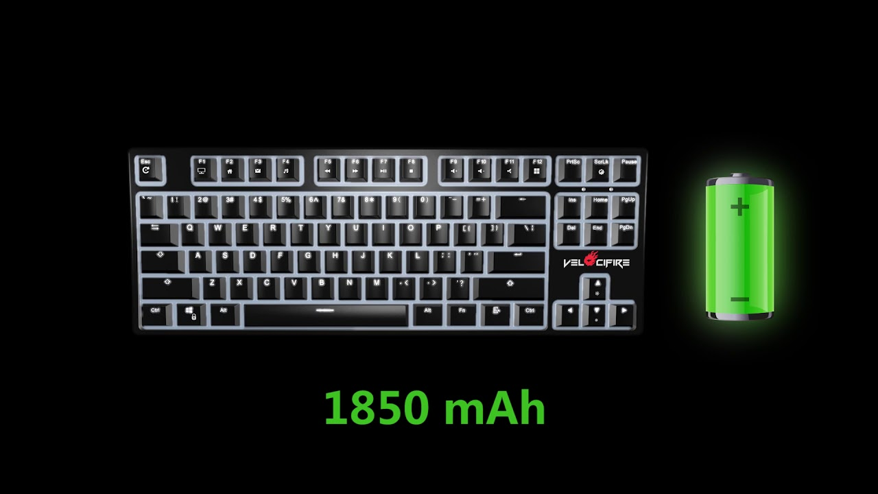 513e71bce99 Velocifire TKL02 WS (Wireless) Mechanical Keyboard - New Arrival 2018.09.06