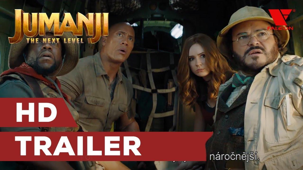 Jumanji: Další level (2019) HD trailer | CZ titulky