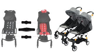 Baby Stroller Connectors Accessories for Babyzen YOYO+ Strollers and most umbrella prams
