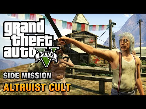 GTA 5 - Altruist Cult Shootout [Altruist Acolyte Achievement