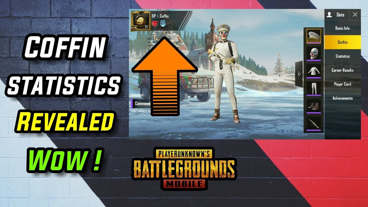 Coffin PUBG Mobile Best Player Statistics And Profile