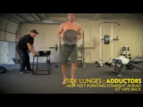 EXCLUSIVE: Lance Armstrong Complete Core Weights Workout Training