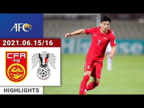 Full Highlights | China vs Syria | 中国vs叙利亚 | سوريا والصين | AFC WC Qualifiers | 2021/06/15-16