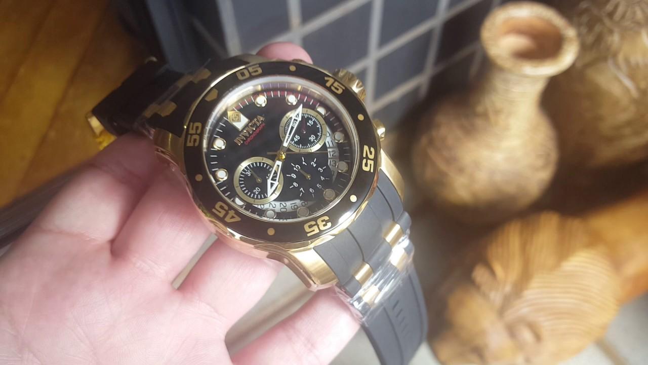 695e2c8c11b Relógio invicta 6981 pro diver cronógrafo na altarelojoaria - YouTube