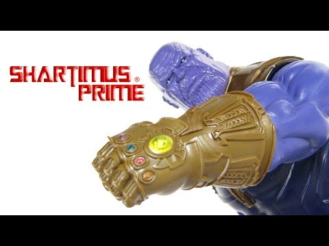 Marvel's Avengers Infinity War Thanos Titan Hero Power FX Hasbro Action Figure Toy Review