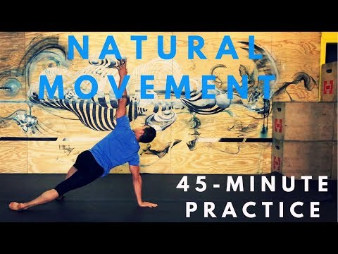 45-minute Natural Movement Class: Mobility, Stability, Coordination