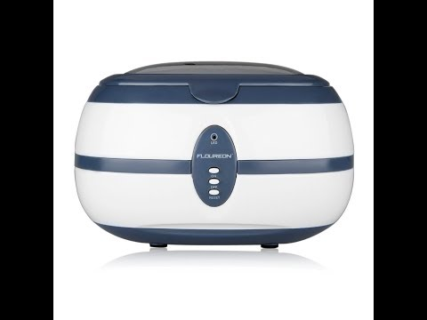 Floureon 600ml Ultrasonic Jewelry Cleaner Unboxed and Reviewed