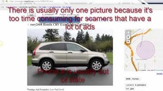 How to spot Craigslist Scam Ads