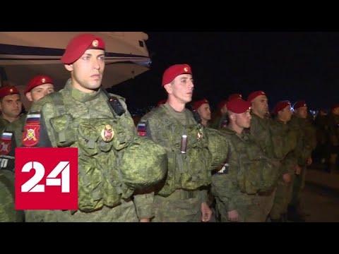 Россия наращивает группировку военной полиции в Сирии - Россия 24